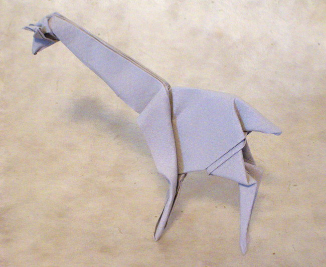 Pleasant Origami Giraffes And Okapi Page 1 Of 3 Gilads Origami Page Wiring Cloud Geisbieswglorg