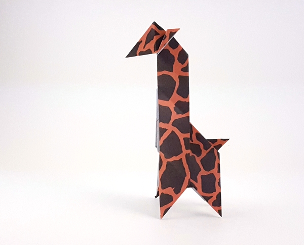 Origami Giraffes And Okapi Page 1 Of 3 Gilads Origami Page