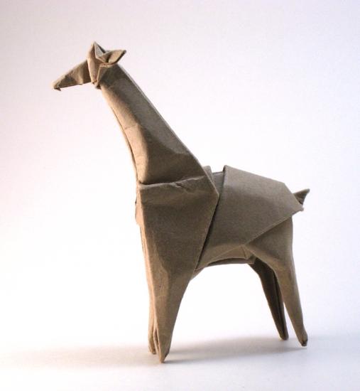 Giraffe Gilads Origami Page