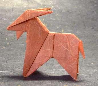 Origami Sheep Tutorial :: Oveja paso a paso - YouTube | 302x344