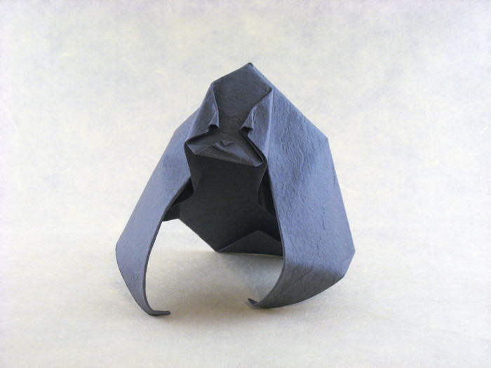 Origami Gorilla by Giang Dinh folded by Gilad Aharoni