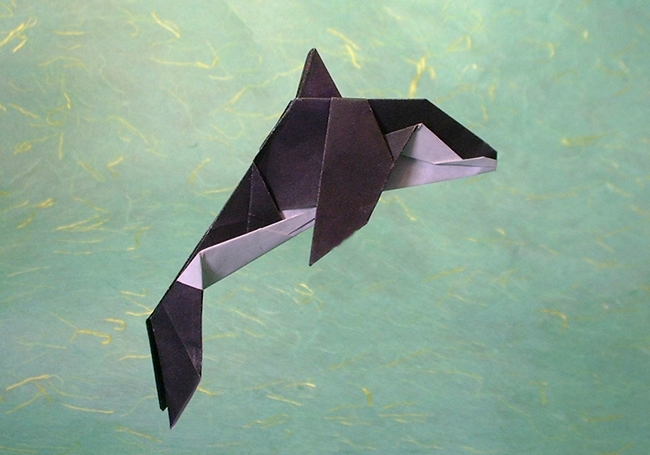 the gallery for gt origami killer whale