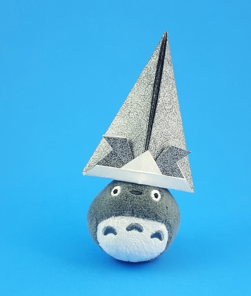 Tall Samurai Hat origami #tutorial (con imágenes) | Manualidades ... | 600x508
