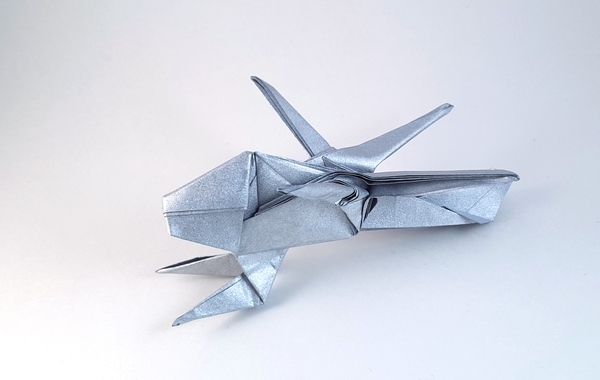 COOL Paper Helicopter - How to make an Origami Helicopter Model ... | 380x600