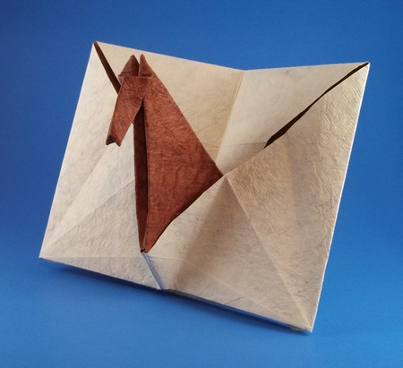Horses In Origami By John Montroll Book Review Gilads Origami Page