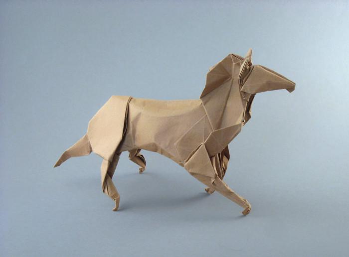 Origami Horse 2 By Ronald Koh Folded Gilad Aharoni