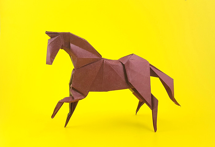 Origami Horses and Donkeys - Page 1 of 4 | Gilad's Origami Page | 361x415
