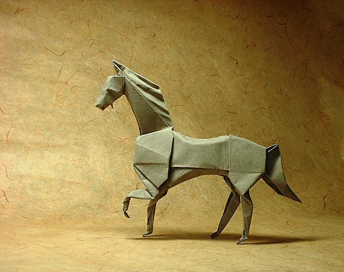 Origami Horse By John Montroll Folded Gilad Aharoni