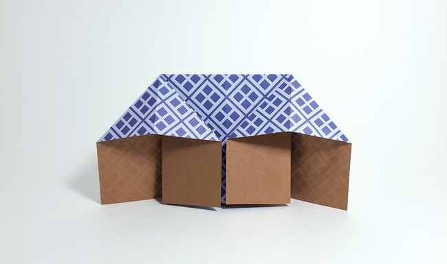 Origami House by Traditional folded by Gilad Aharoni on giladorigami.com
