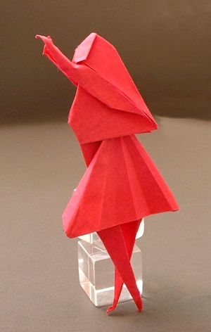 Origami Person Images Coloring Pages Adult