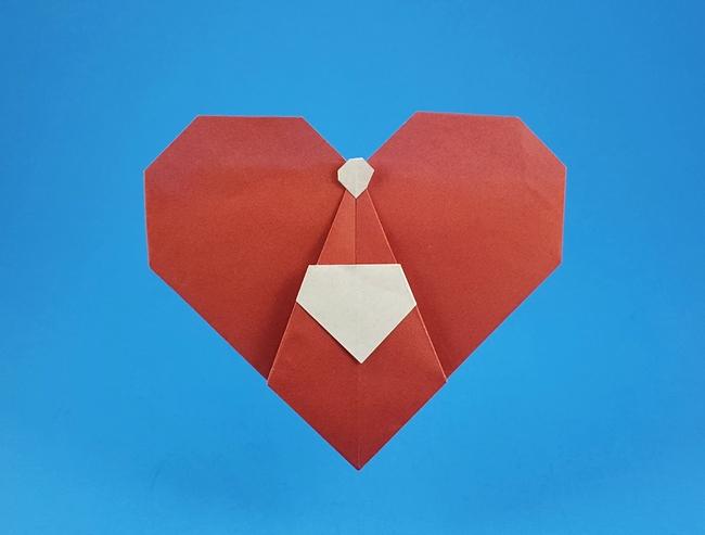 Christmas - Origami Santa Claus Ver.2 Free Diagram Download | 493x650
