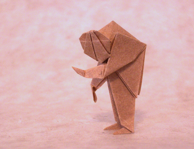 Origami Igor by Mario Adrados Netto folded by Gilad Aharoni