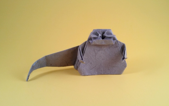 Fold Origami Admiral Ackbar now! | 344x550