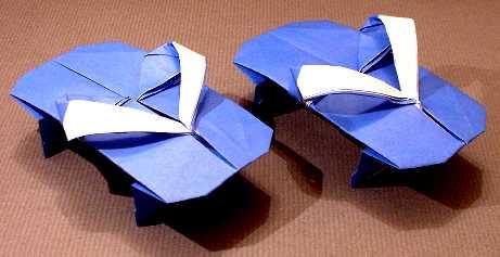 Origami Sandals By Kumasaka Hiroshi Folded Gilad Aharoni