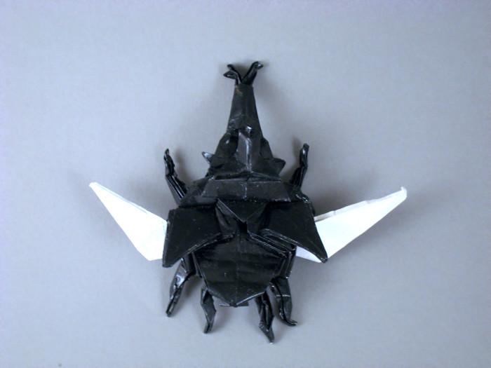 Origami Samurai Hat Photo Tutorial - Paper Kawaii | 525x700