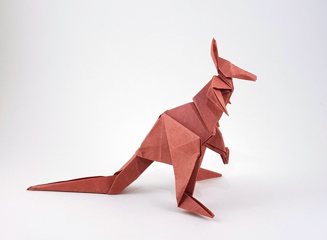 origami kangaroos gilads origami page