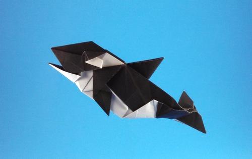 Origami Whales Page 1 Of 2 Gilad S Rh Giladorigami Com Sperm Whale Tattoo Orca