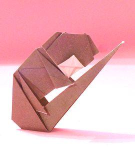 Origami Koala Transparent & PNG Clipart Free Download - YAWD   296x270