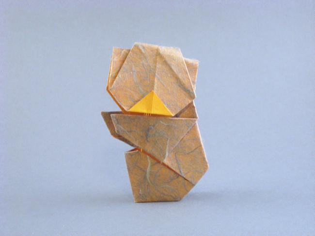 How To Make An Origami Koala Bear - YouTube   421x338