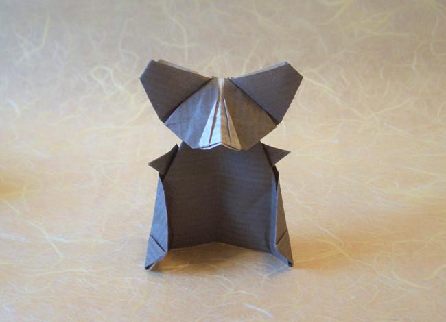 Origami koala png, Picture #723126 origami koala png   470x650
