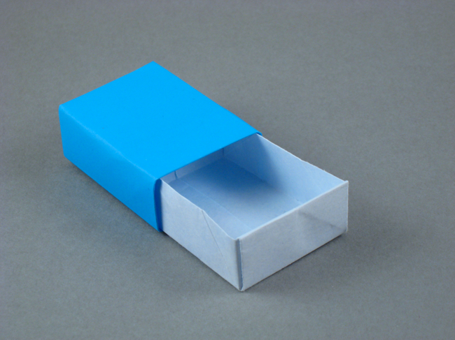 Origami Matchbox by Max Hulme folded by Gilad Aharoni on giladorigami.com