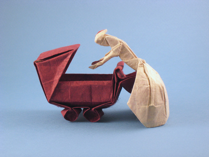 Origami Mother Love By Neal Elias Folded Gilad Aharoni