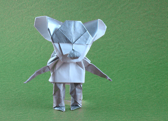 Origami Mouse by Michael Assis folded by Gilad Aharoni
