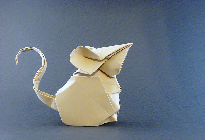 Origami Mouse By Hoang Tien Quyet Folded Gilad Aharoni On Giladorigami