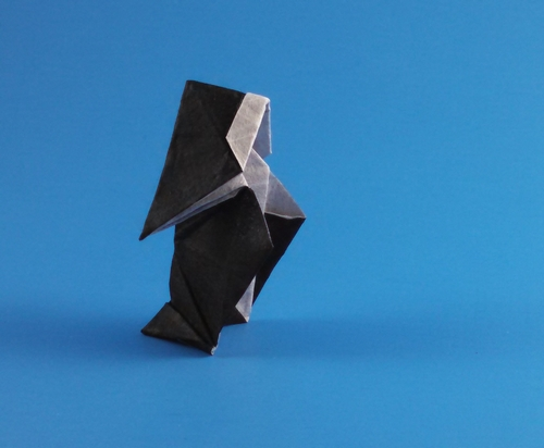 Origami Nun by Fatima Granadeiro folded by Gilad Aharoni