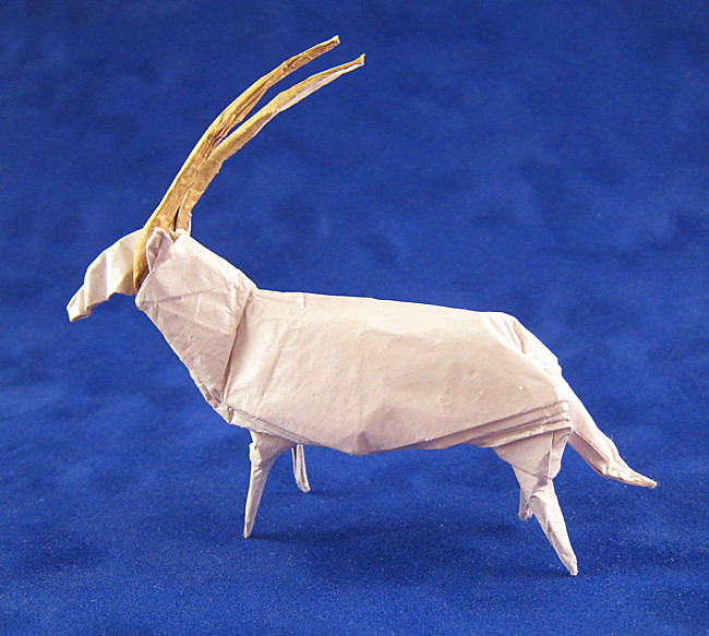 Origami Goat by CY Hung | 583x650