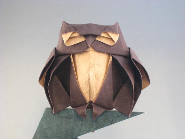 Origami Owl By Roman Diaz Folded Gilad Aharoni