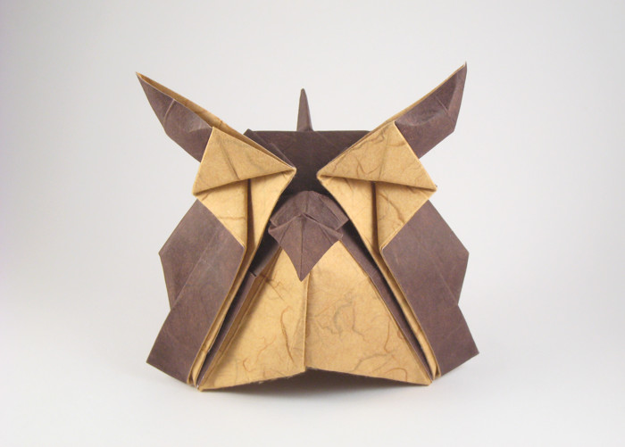 Origami Owl by Jacky Chan folded by Gilad Aharoni