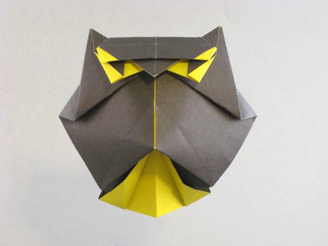 Owl Roman Diaz Gilads Origami Page