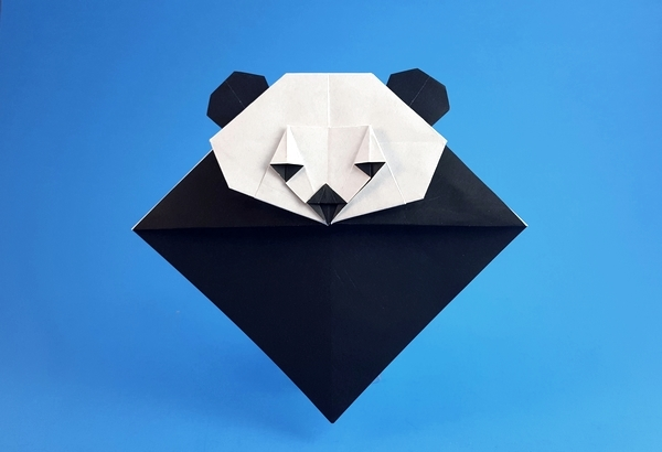 origami panda bookmark food ideas