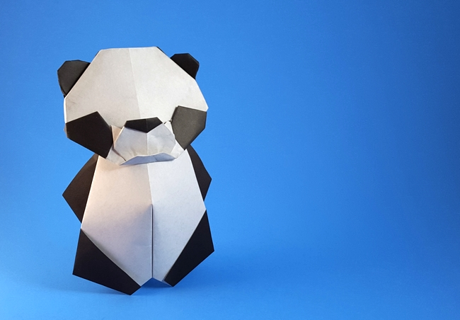 Origami Pandas Page 1 Of 8 Gilads Origami Page