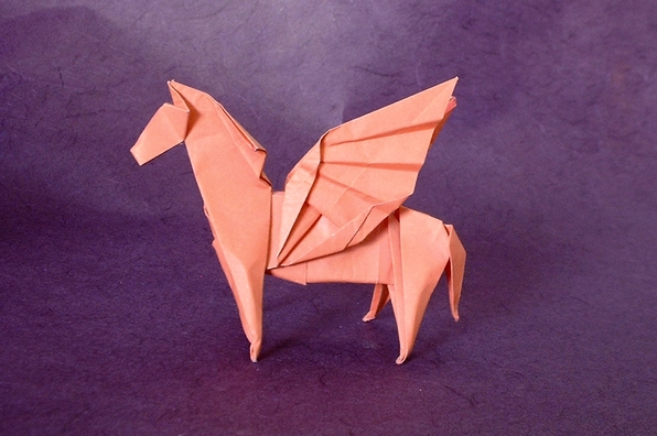 Origami Pegasi Page 2 Of 3 Gilads Origami Page