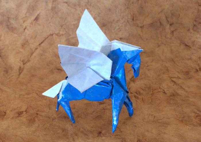 Origami Pegasi Page 1 Of 3 Gilads Origami Page