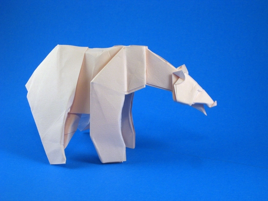 Origami Instructions: Bear (Stephen Weiss) - YouTube | 413x550