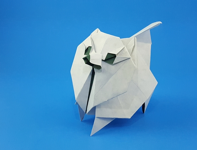Pomeranian 212moving Gilads Origami Page