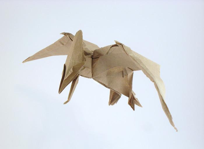Origami Pteranodon By Jason Ku Folded Gilad Aharoni