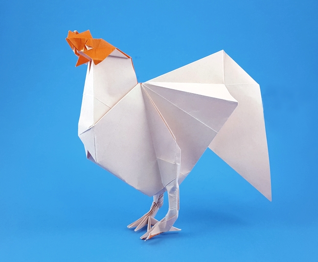 Origami Hens And Pheasants