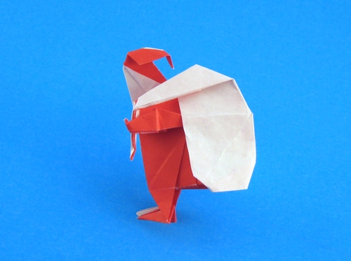 Origami Christmas And Santa Claus Page 16 Of 17 Gilads Origami Page
