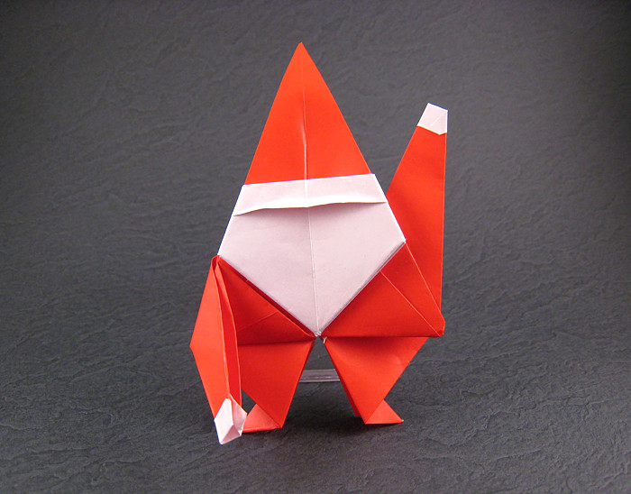 Origami Christmas and Santa Claus - Page 1 of 21 | Gilad's Origami ... | 548x700