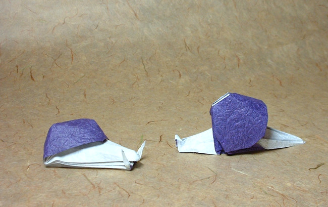 How to make paper Snail || Origami Snail || DIY - YouTube | 409x650