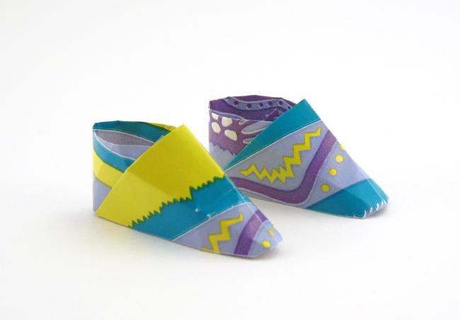 Origami Sneaker By Makoto Yamaguchi Folded Gilad Aharoni