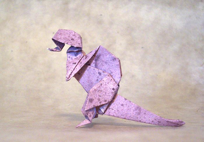 Spinosaurus By Yamada Katsuhisa Diagrams In Origami Dinosaurs