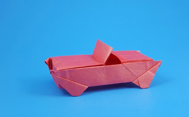 Origami Sports Car By Iris Walker Folded Gilad Aharoni
