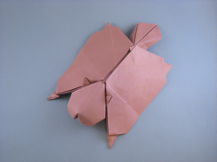 Origami Flying squirrel by Gen Hagiwara folded by Gilad Aharoni
