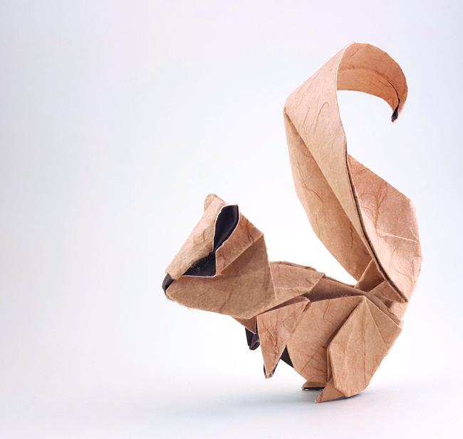 Squirrel Origami