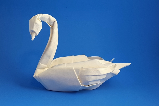 Origami Swans Gilads Origami Page